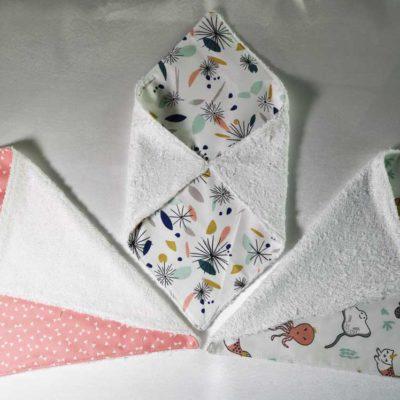 Serviettes de table lavables